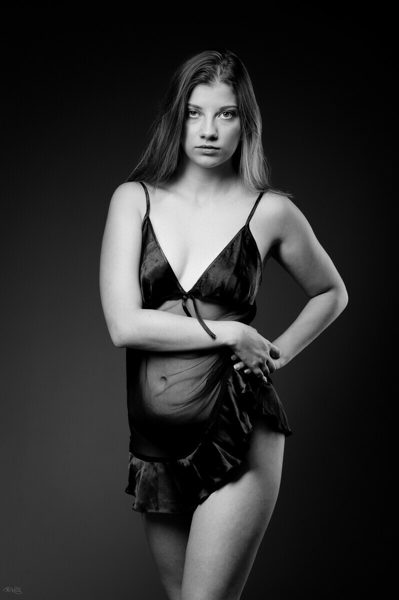 Shooting photo modele lingerie